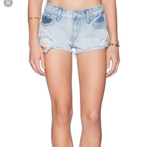 Lovers & Friends Caleb Low rise shorts